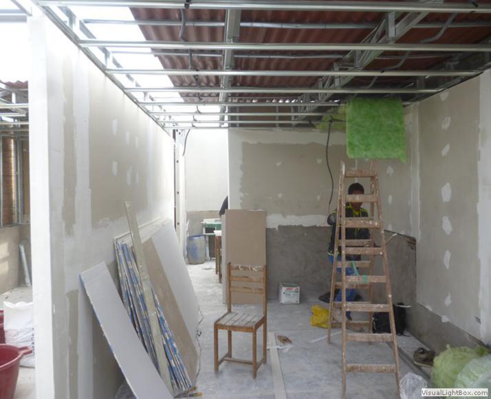 Casas de drywall casa de drywall en lima casa drywall for Tirol en techos de casas